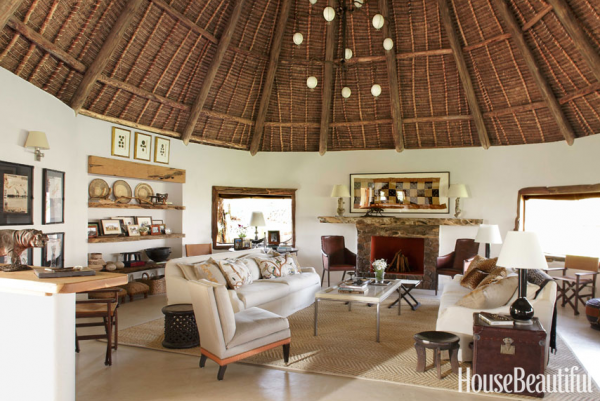 African interior design zipping off to a compound of palm for Apartment design kenya