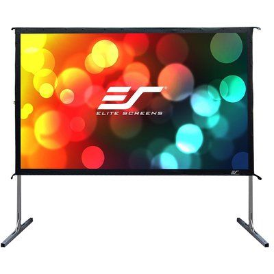 Elite Screens Yard Master 2 Series 120 Portable Projection Screen Outdoor Projector Screens Movie Projector Screen Outdoor Movie Screen