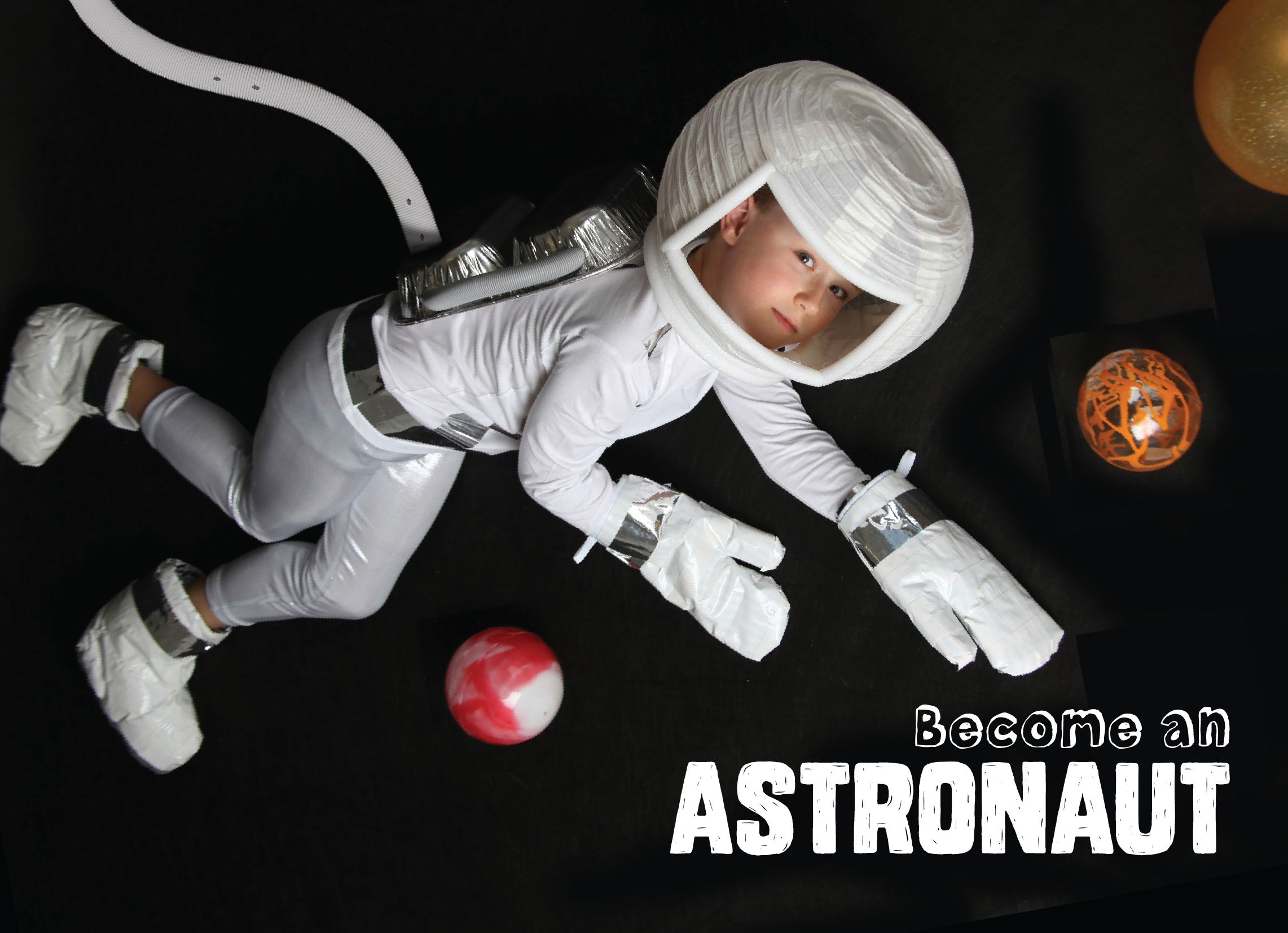 our amazing no sew astronaut costume its mostly made with duct tape macgyver - Macgyver Halloween Costume