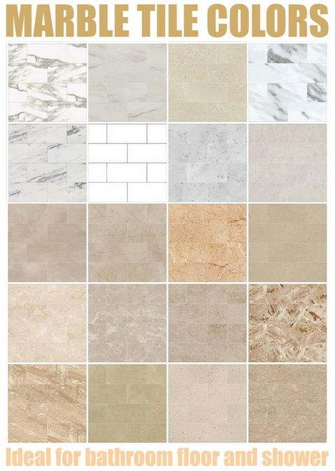 Marble Tiles Colors Marble Tile Color Chart Above