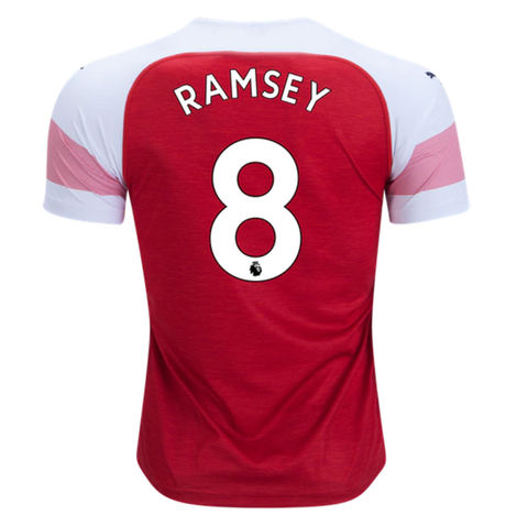 best website 2978f b4701 Arsenal 18/19 Home Men Soccer Jersey Personalized Name and ...