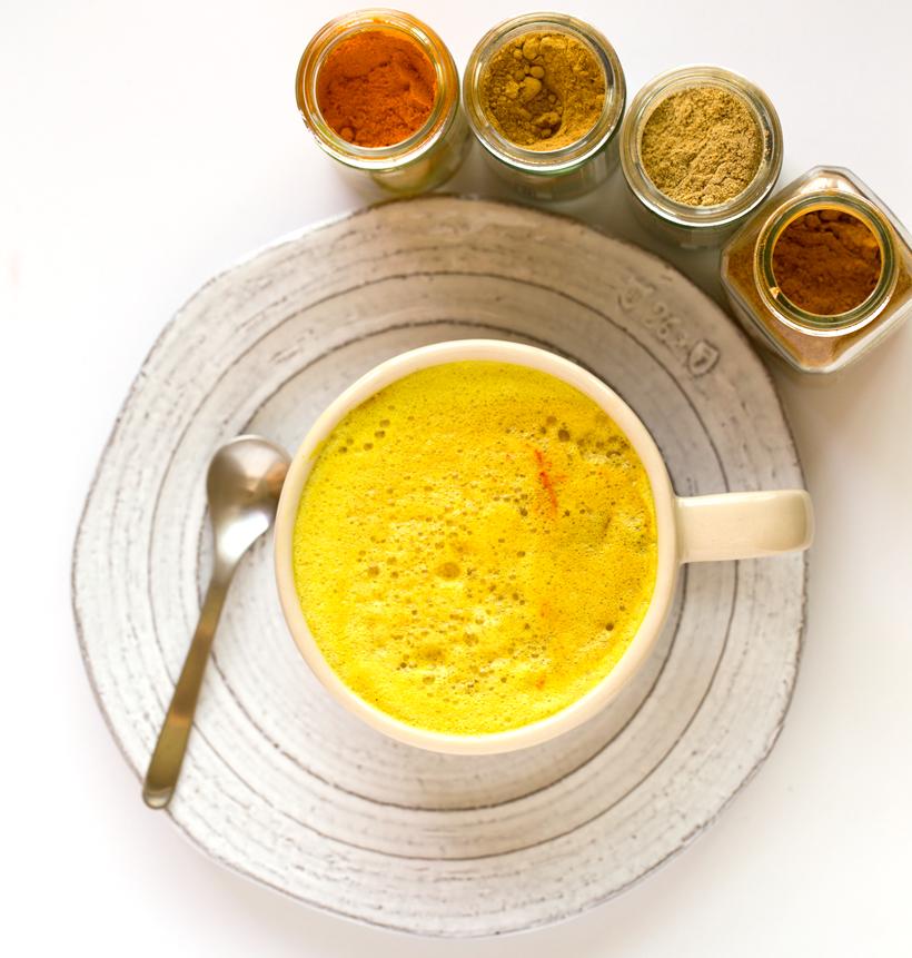Warming Spiced Golden Milk For Fall, Vegan