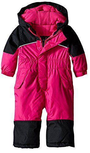 36b3b1e3ea96 iXtreme Little Girls  Snowmobile One Piece Winter Snowsuit Ski Suit ...