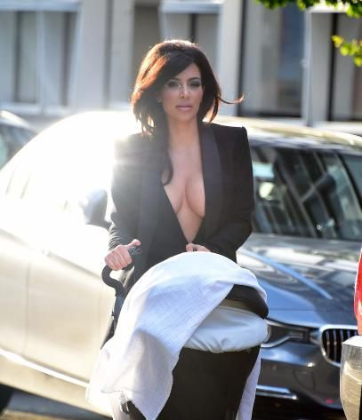 This Photo of Kim Kardashian Shows Why Women Can't Have It All