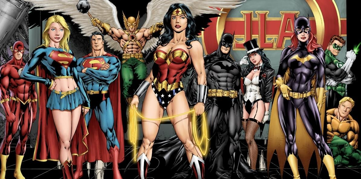 Nude Justice League Babes