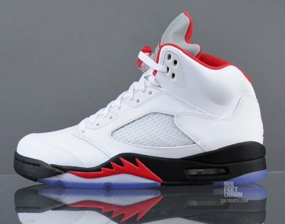 super popular ad141 52dc1 Air jordan retro v fire red bought my first.pair