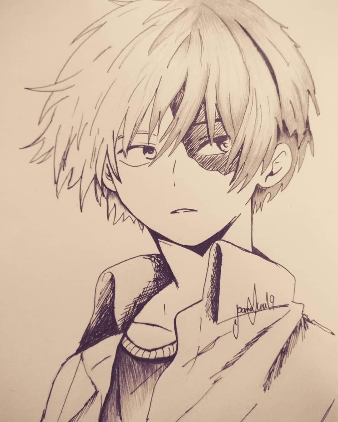 Todoroki Anime Bokunoheroacademia Myheroacademia Todoroki Art Izukumidoriya Heart Mha Todorok Anime Sketch Anime Drawings Sketches Anime Drawings