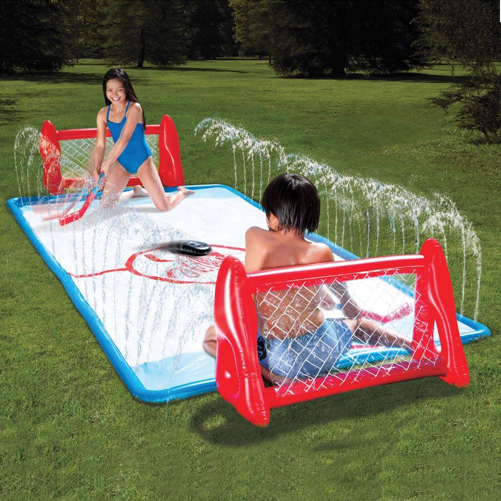 the water soaked knee hockey rink descriptionlifetime guarantee