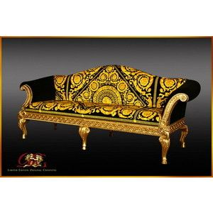 Totally Over The Top Versace Sofa. Which I Totally Buy.
