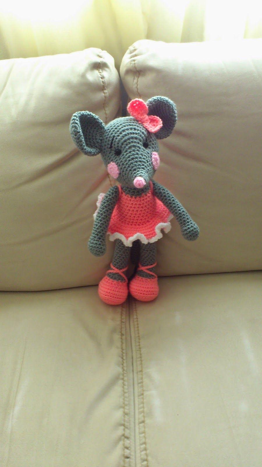 Amigurumi Ballerina Rat - FREE Crochet Pattern / Tutorial | FREE ...
