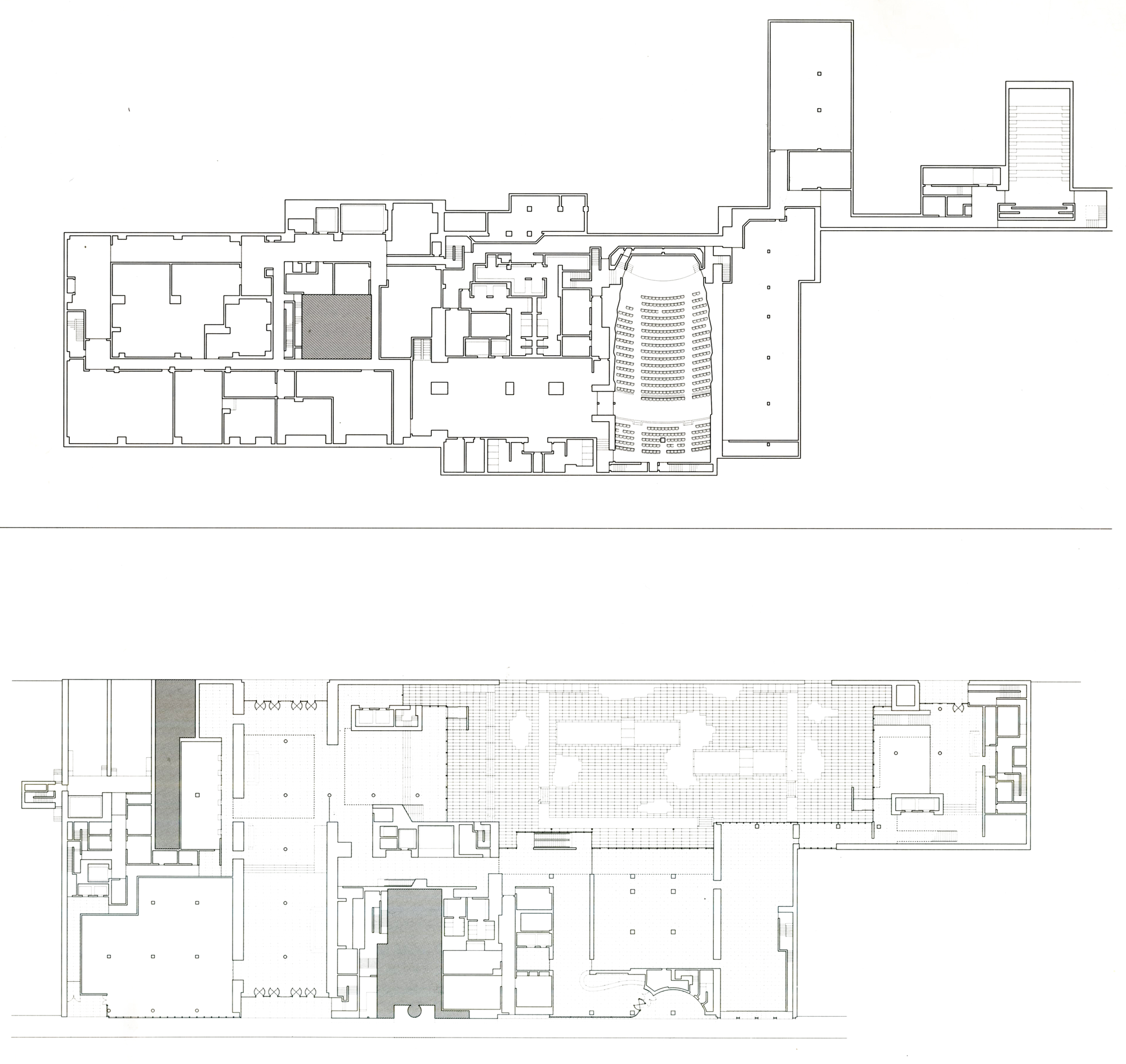 Moma Subcellar And Entry Level Plans 建築図面 平面図 図面