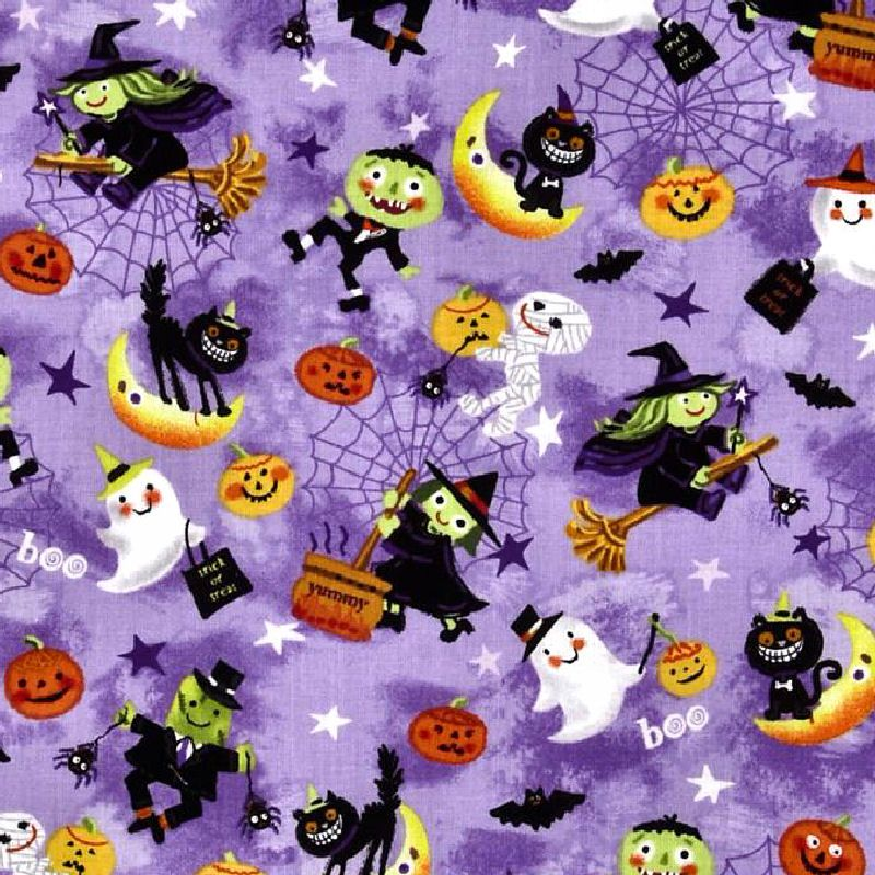 Trick or Treat Flying Witches