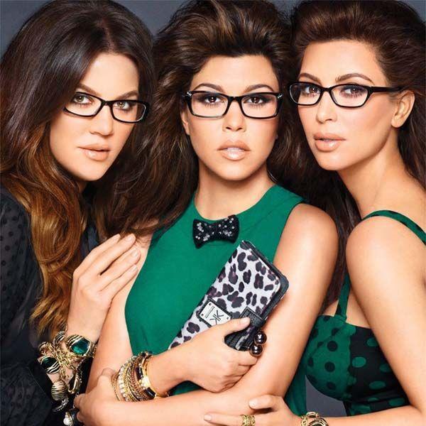 fashionable glasses for women  Kardashian fashion glasses for women
