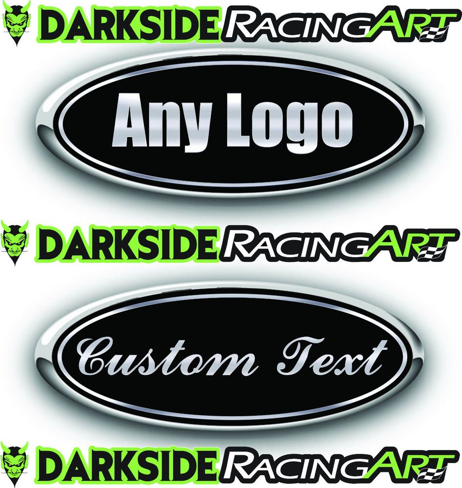 Pin on Ford Emblem Overlay Decals Wraps