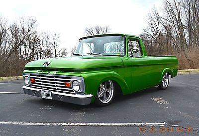 1963 ford f100 unibody restomod well done beautiful condition very sharp used ford f 100 for. Black Bedroom Furniture Sets. Home Design Ideas