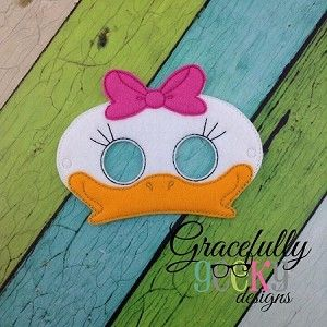 Girl Duck Mask Costume Dress Up Party Favors by MommaCricketz & Pin by Lorena Martinez on Antifaz   Pinterest   Duck mask ...