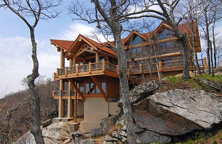 Log Cabin Homes Kits Model S Center Rocky Mount Nc