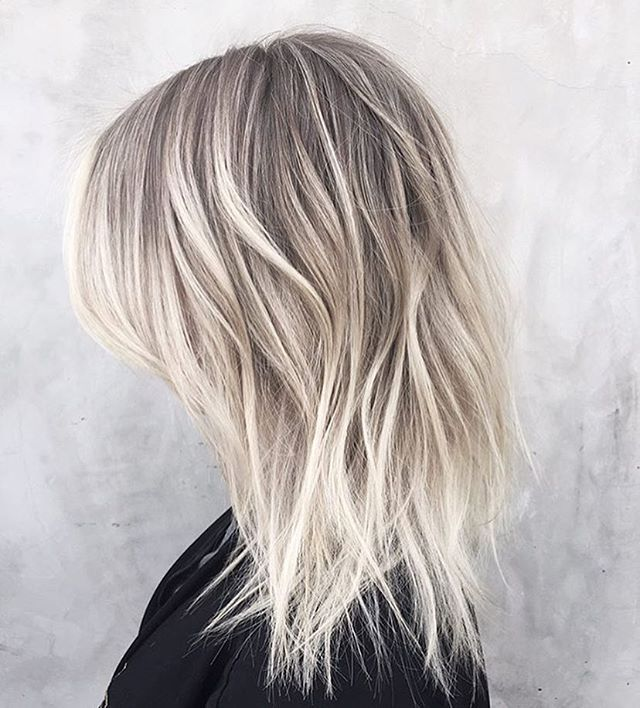dimensional, and textured. All about this lived in platinum color by @msmorganashley using