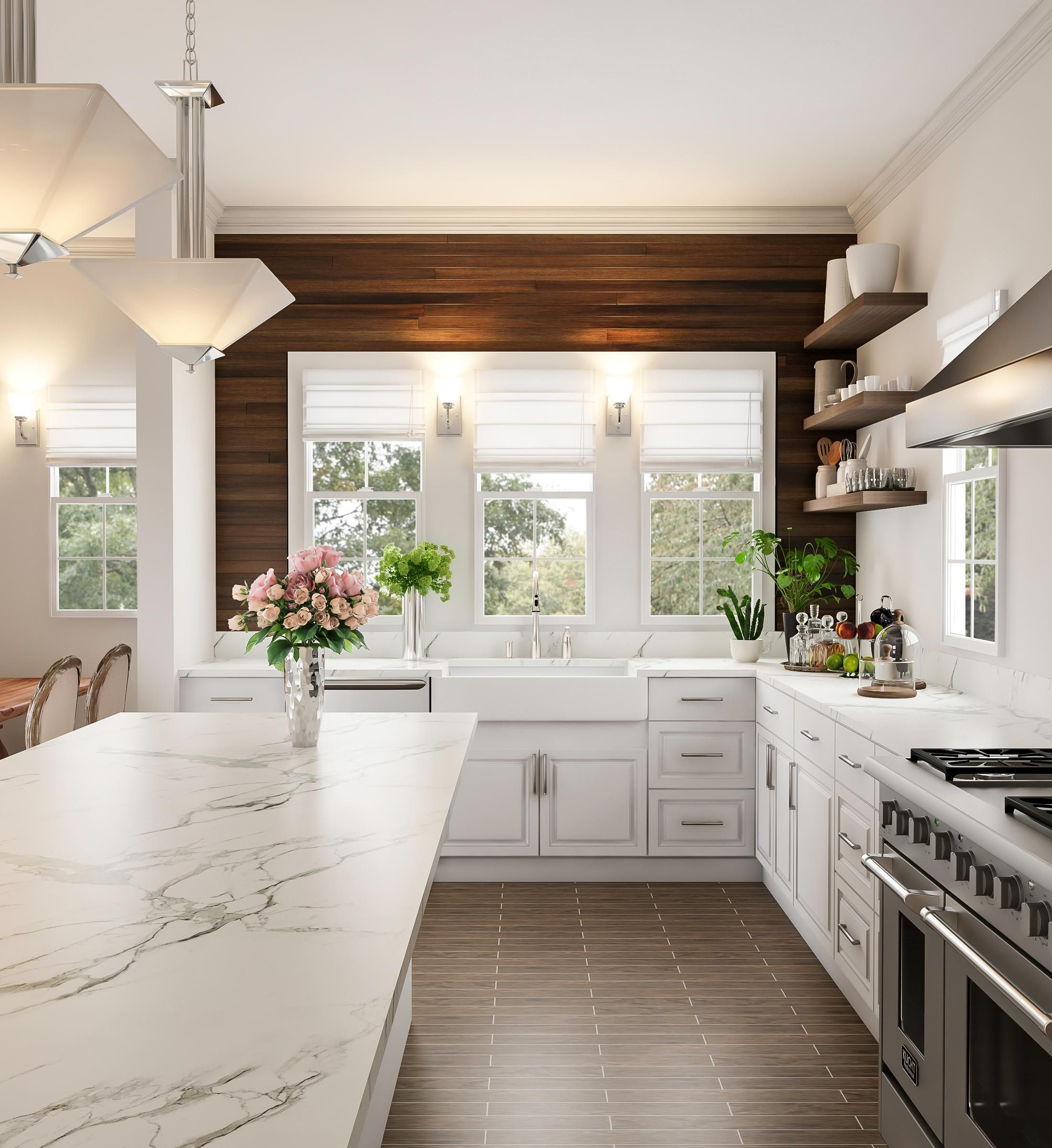 Glam Java Kitchen Feature Wall Home Decor Kitchen White Kitchen Design Kitchen Design