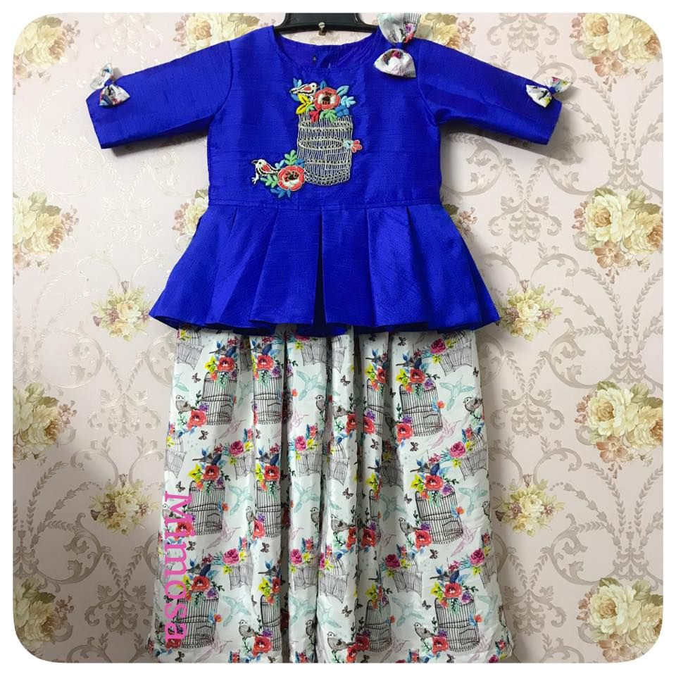 Mimosa Kids designer wear. <br>  Contact : 098744 86000. Calcutta.