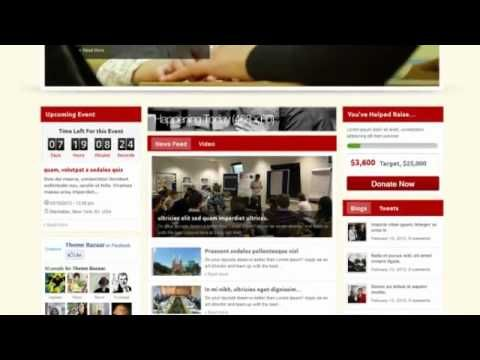 Wisdom Of Life NGO and Charity Theme + Free Download Free Themes - ngo templates