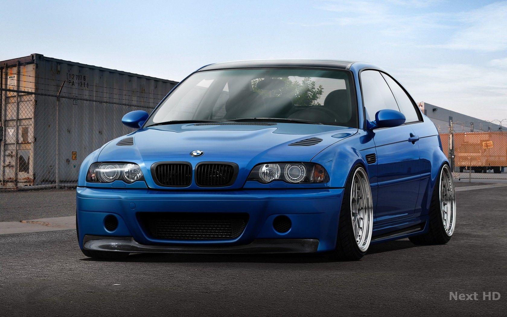 Blue Bmw Hd Wallpapers Bmw Bmw E46 Bmw M3