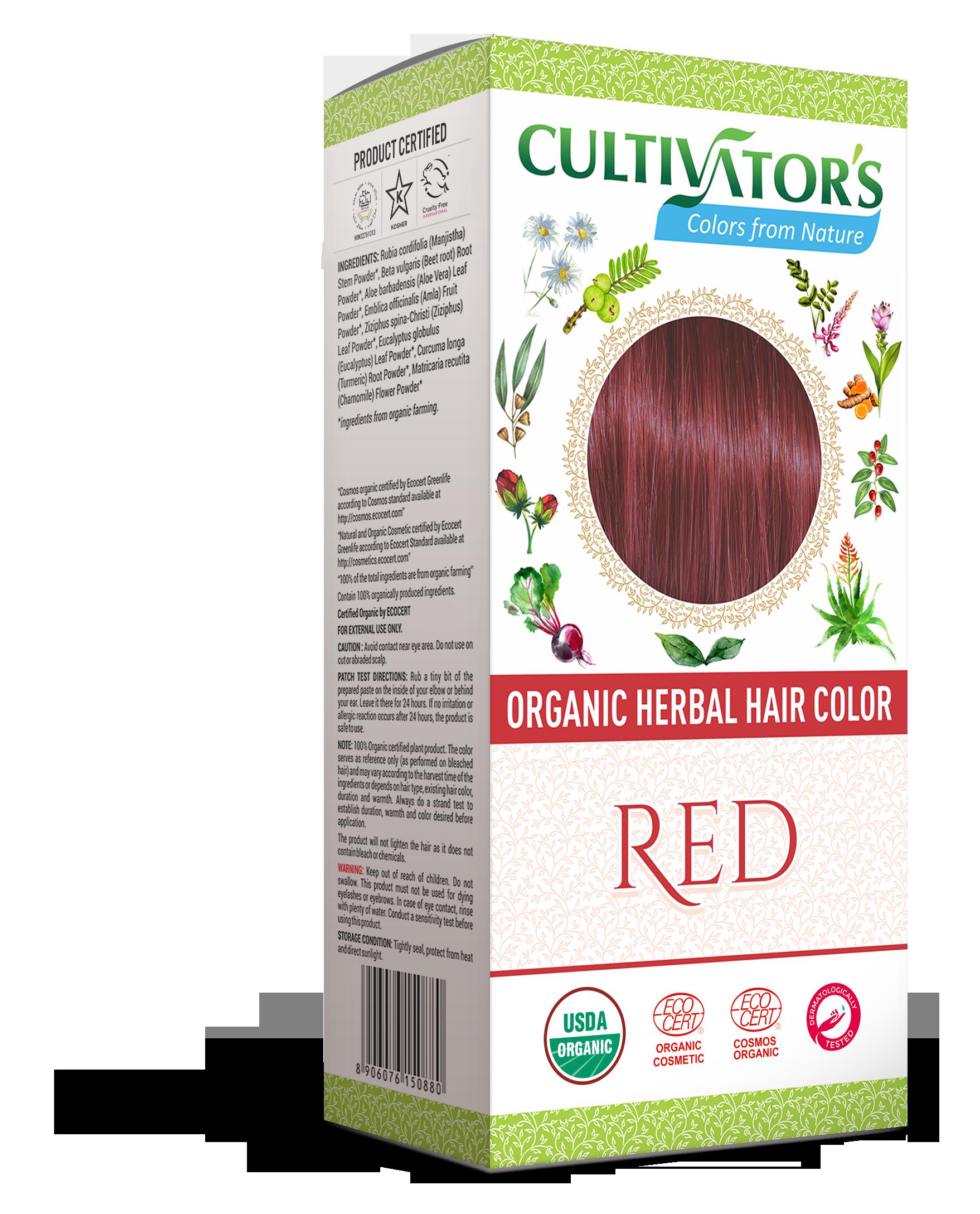 6a51d8524 Red – Organic herbal hair color Manjistha, Beet root, Henna, Aloe ,  Ziziphus, Amla,Eucalyptus, Turmeric,Chamomile Certified Organic NPOP, USDA  NOP, EU, ...