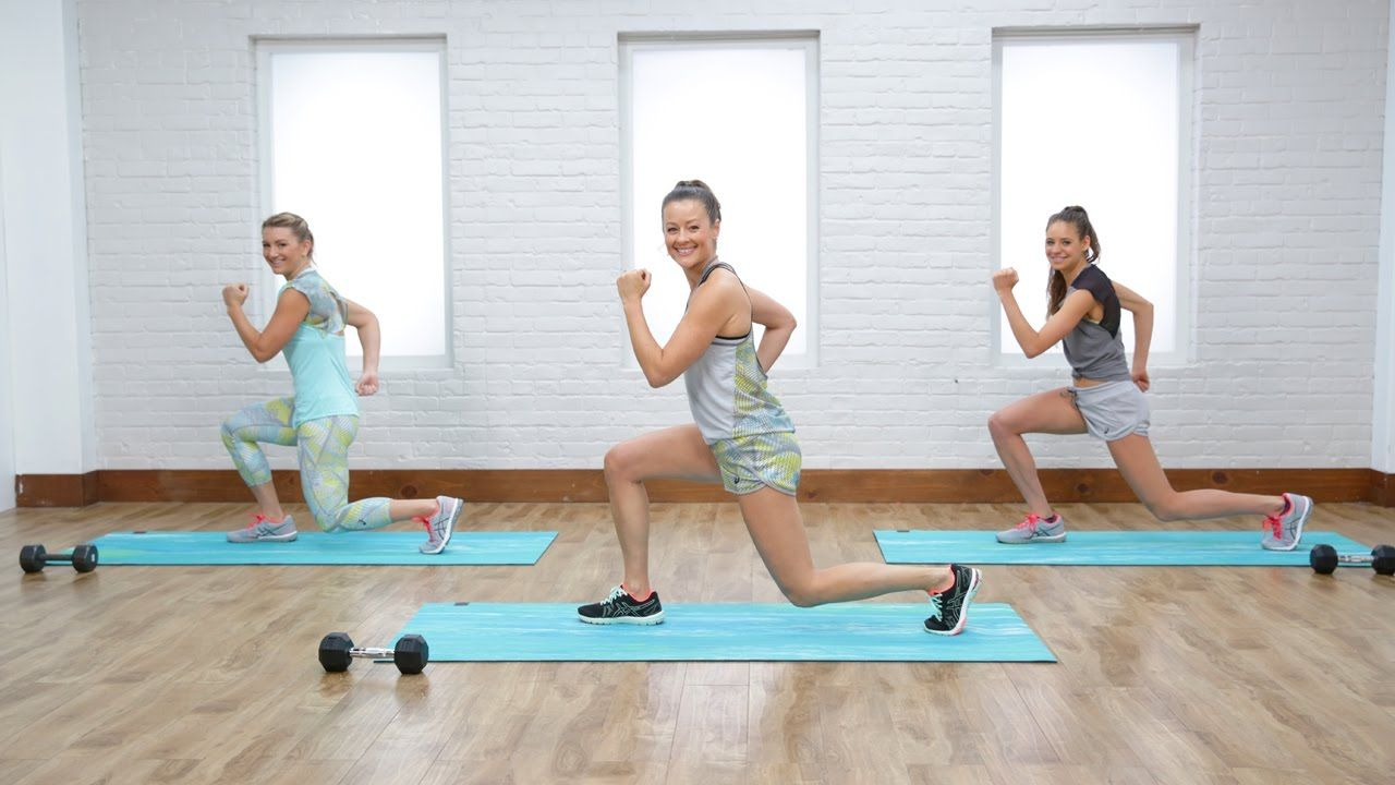 Tighten and tone your thighs with this 10-minute workout. POPSUGAR ...