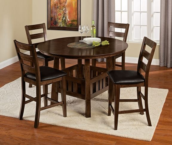 American Signature Furniture   Harbor Pointe Dining Room  Collection Counter Height Table $329.99