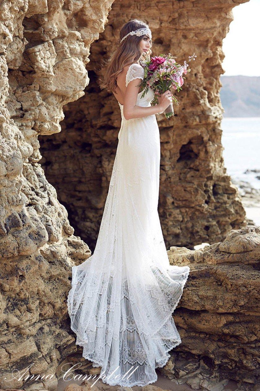 Wedding Dresses: Anna Campbell Spirit Collection