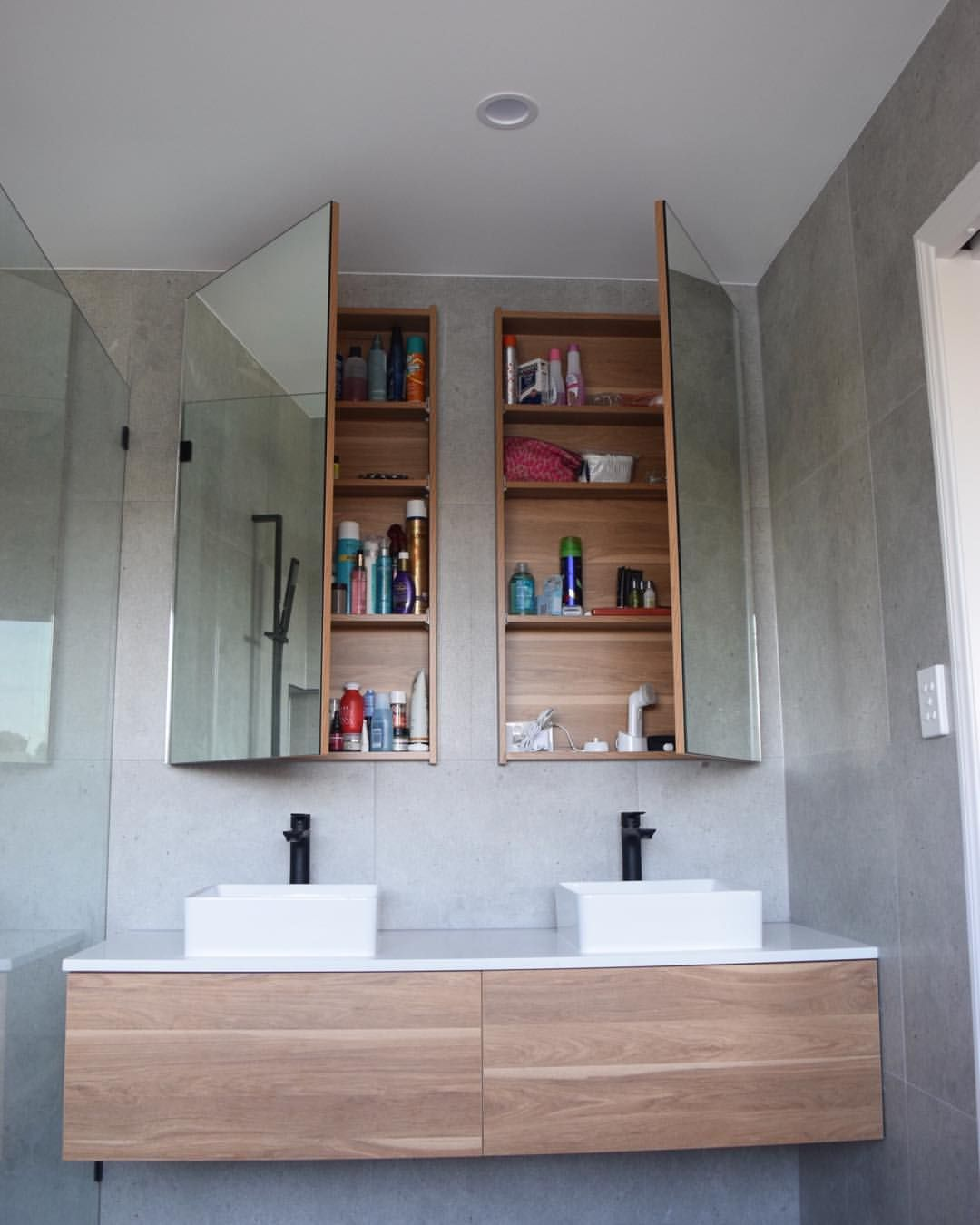 Recessed Cabinet Recessed Cabinet Small Bathroom Remodel Bathroom Renovations