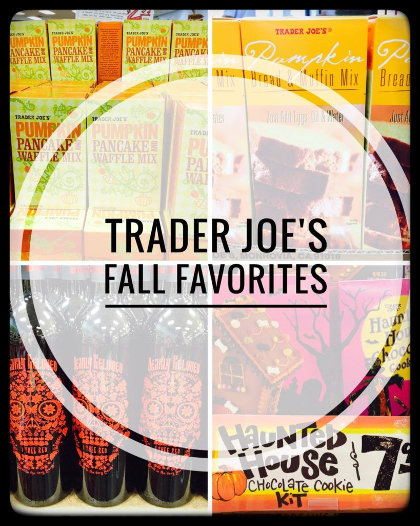 Fall Favorites from Trader Joe's Pumpkin decorating