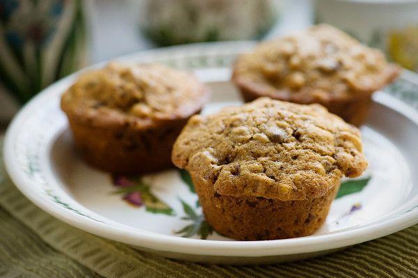 Coffee Walnut Chocolate Chip Muffins Recipe