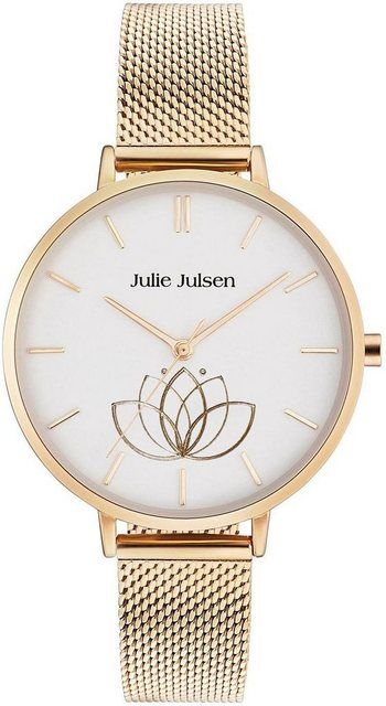Quarzuhr »LOTUS FLOWER GOLD, JJW1100GME« #lotusflower
