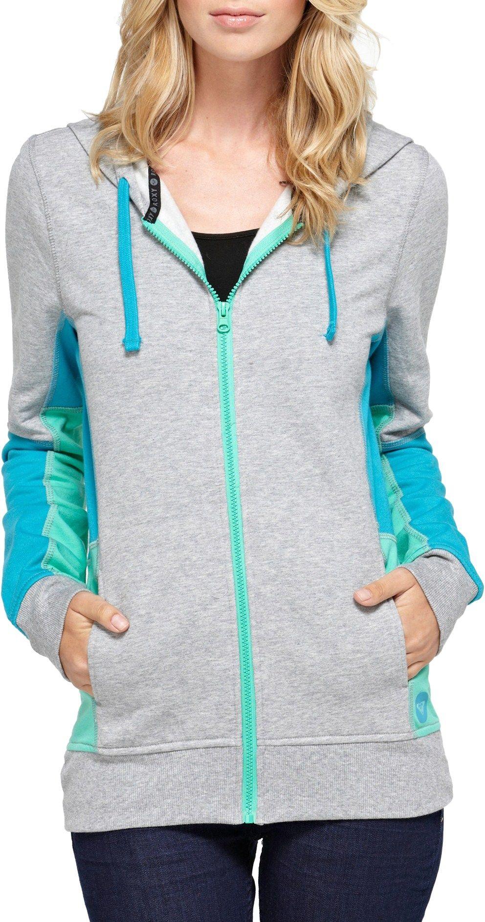 Roxy hoodie, Gray&Blue