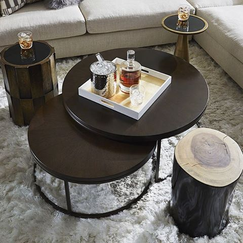 Trending Mismatched Stools Motleydecor Com Living Room Coffee