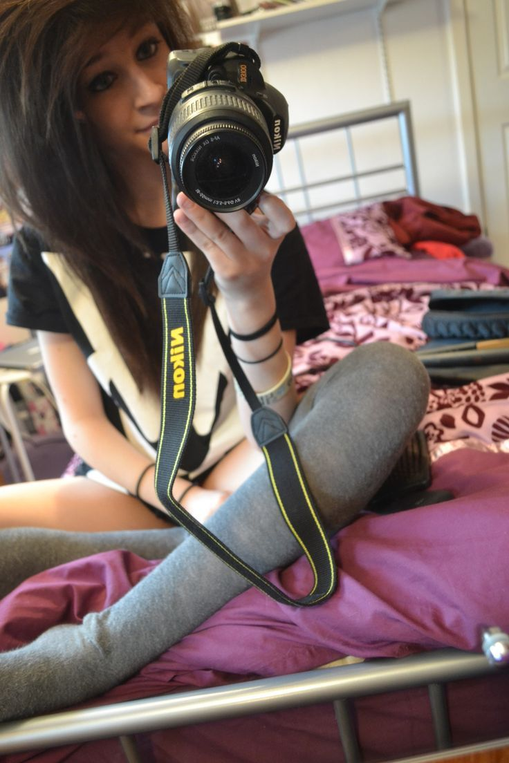 I love her camera and hair beautiful uc outfits pinterest emo