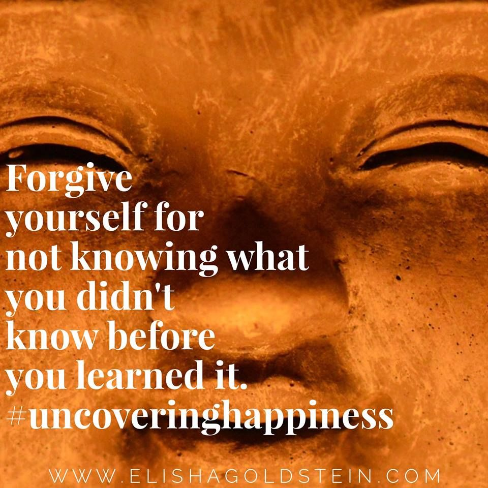 Learn To Forgive Yourself No Matter What Emotions Pinterest