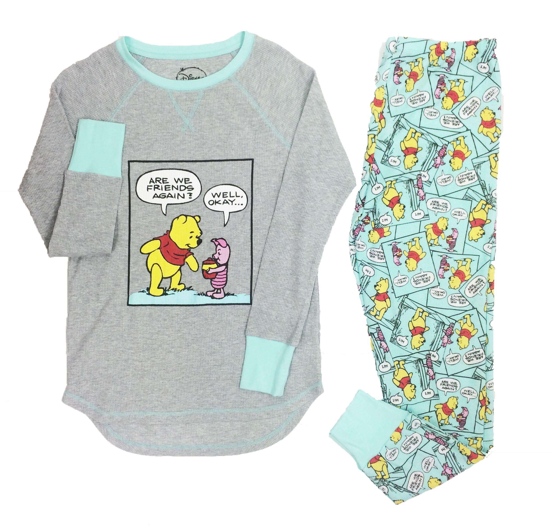 Disney Womens Winnie The Pooh Pajamas