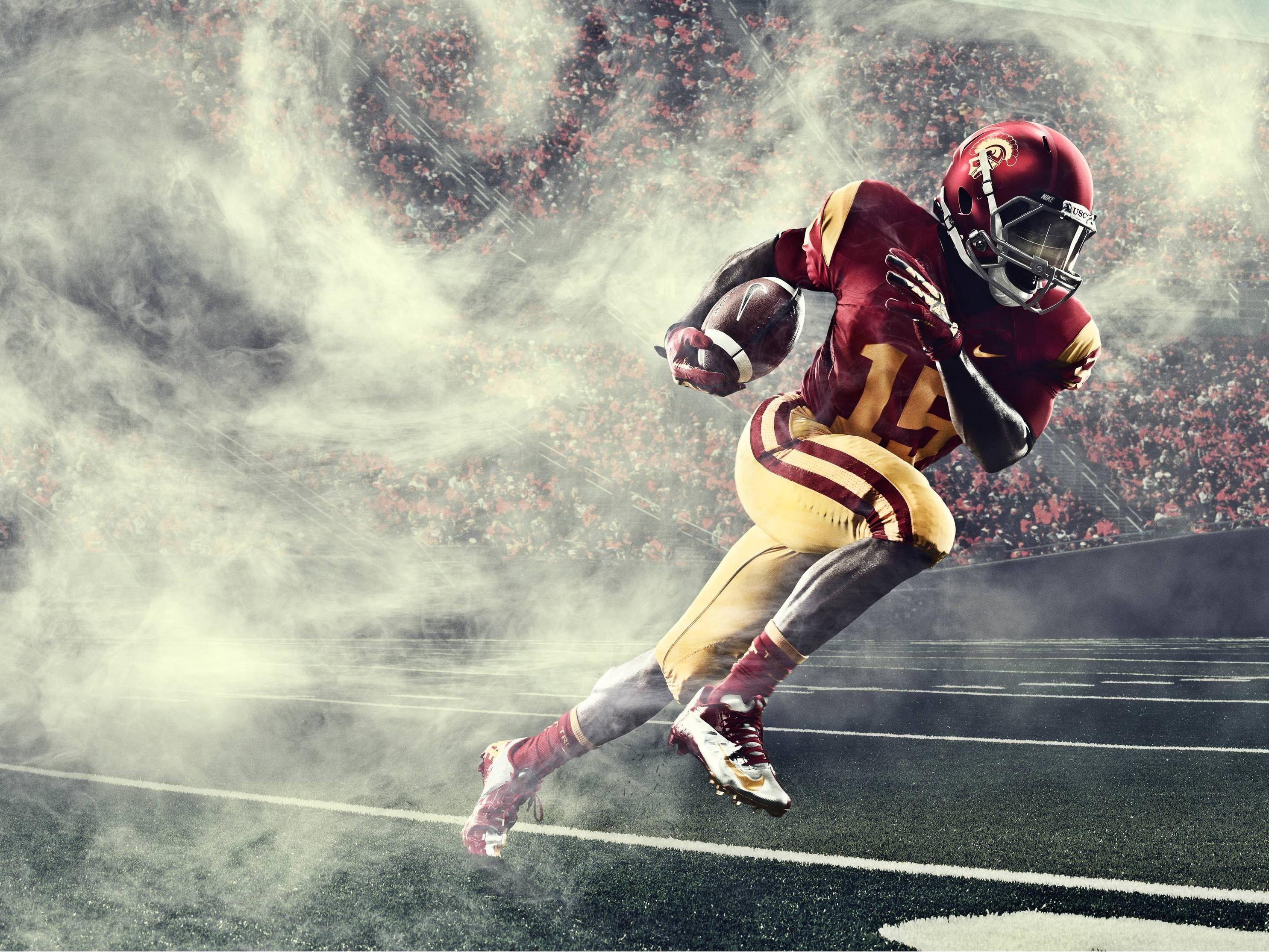 Hd Usc Trojans Football Wallpaper Usc Trojans Football Trojans Football Usc Football