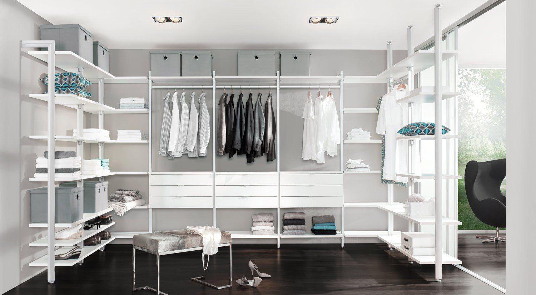 Ankleidezimmer Einrichten Ideen Mit Bildern Ankleidezimmer Planen Glasschrank Begehbarer Kleiderschrank Regalsystem