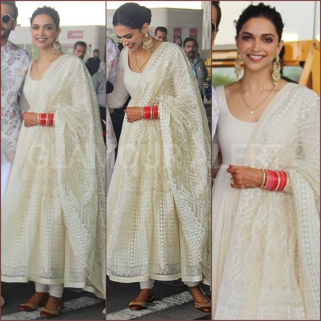 Absolutely love Deepika's look in Sabyasachi Mukherjee ...