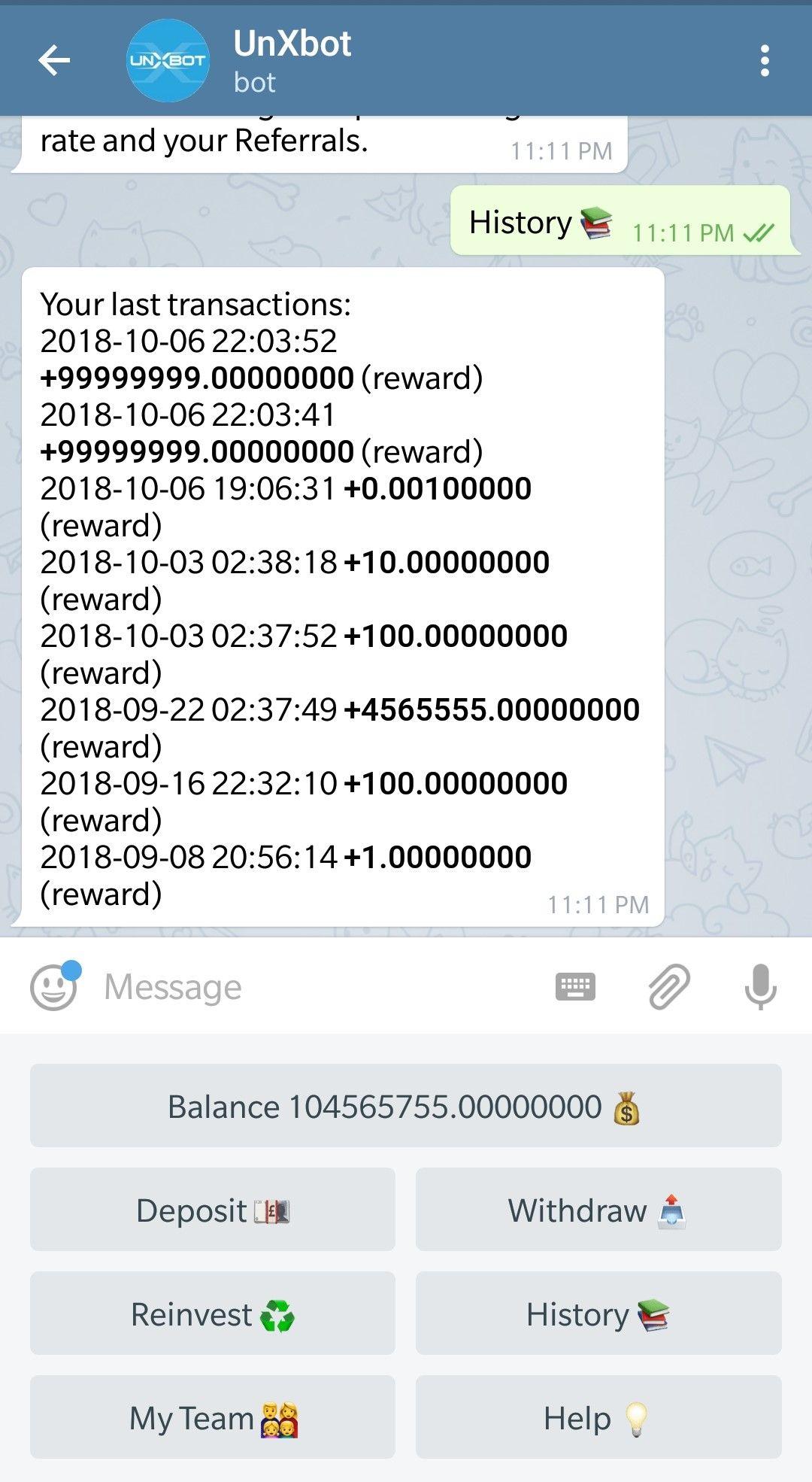 Telegram Bot Script, Telegram Investment Bot Script