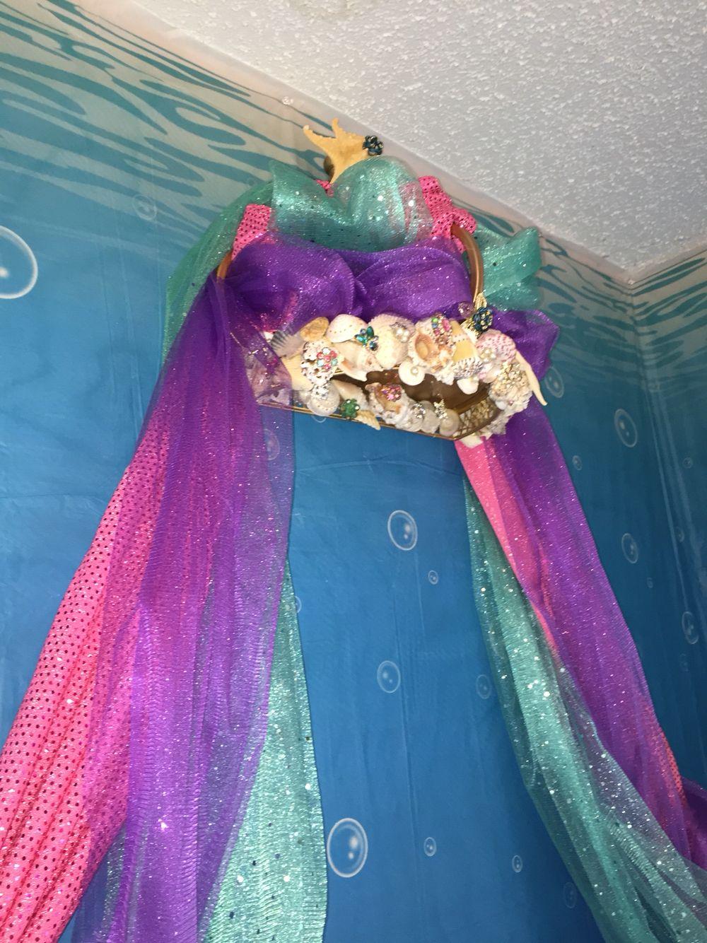 Mermaid Bed Canopy Bed In 2019 Mermaid Room Mermaid
