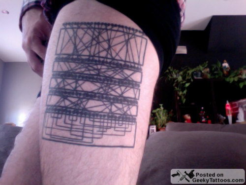 This Is A Tattoo I Designed Based On The Wiring Diagram