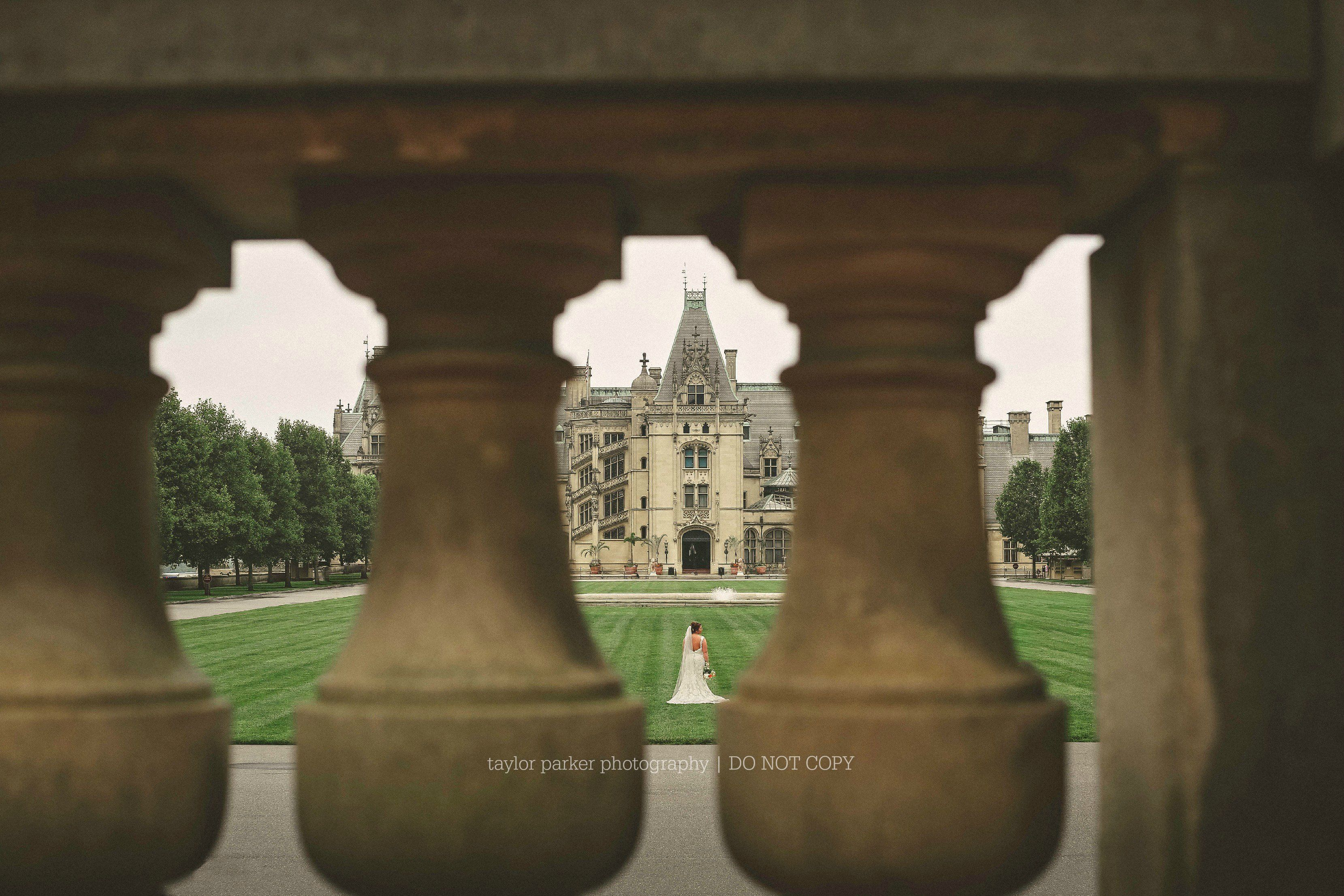 Biltmore House bridal session // Asheville, NC weddings