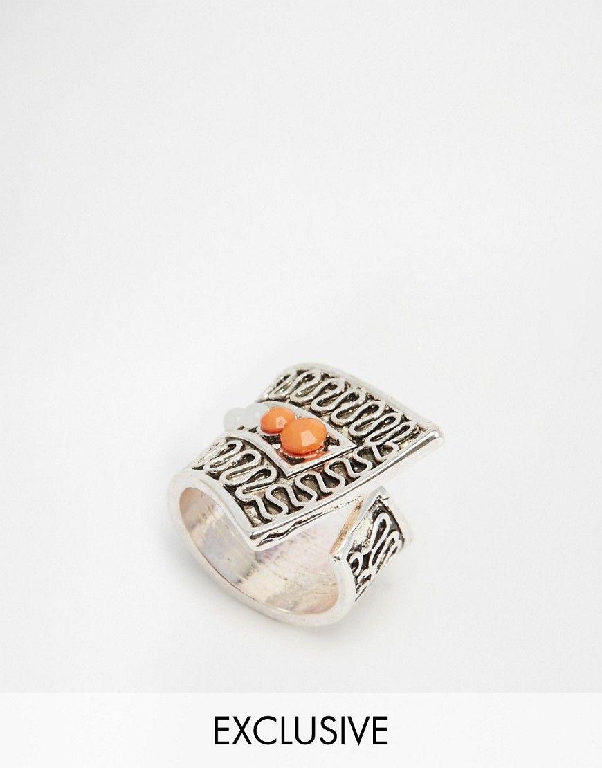 De fedeste Designsix Etched Ring - Silver Designsix Ringe til Damer i lækker kvalitet