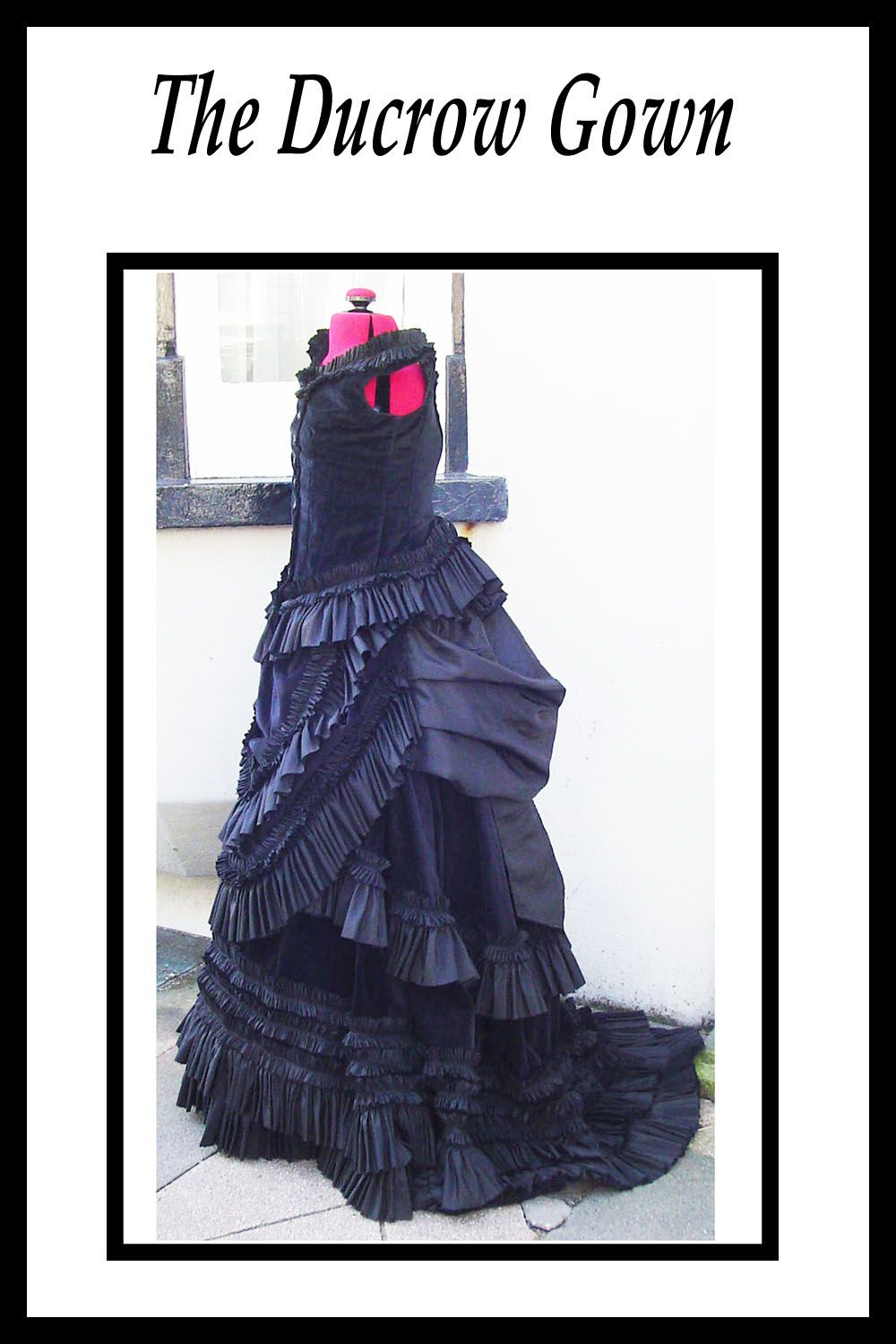 victorian wedding bustle dress (With images) Victorian