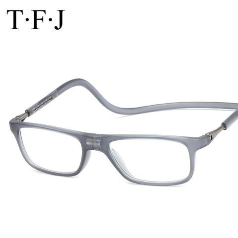 cfd3f25437af Adjustable Magnetic Reading Glasses Men Women Eyewear lazy Glasses Reading  Magnet Presbyopic Hyperopia Glasses With Diopters