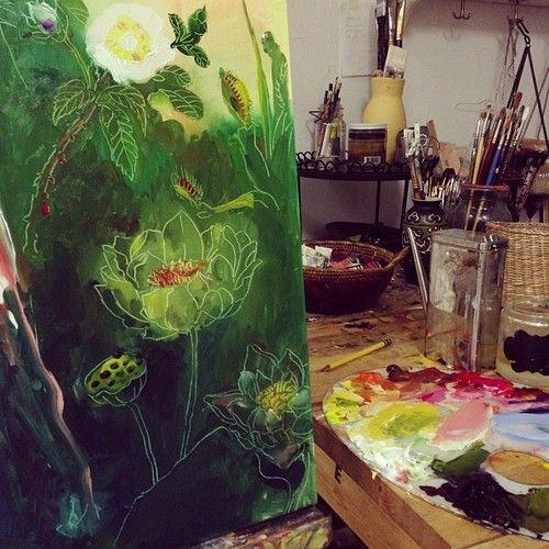 Charmaine olivia flowers | The Artist And Their Shells ...  Charmaine olivi...